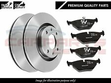 FOR VAUXHALL ASTRA MK5 04-09 FRONT VENTED BRAKE DISC DISCS PADS KIT SET 4 STUD*