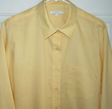 FOXCROFT Button Front NO-IRON Blouse / Shirt / Top Womens SIZE 16 NEW