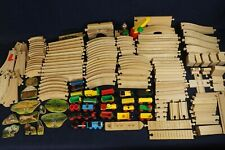 THOMAS, BRIO, IKEA, etc Wooden Railroad Train Lot Cars Tracks Wood