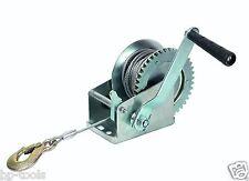 Treuil manuel à manivelle  540/1080 Kg  pour remorque auto-moto-bateau