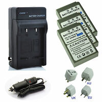 Battery / Charger Pack for Olympus PEN E-P1,E-P2,EP2,E-P3,EP3 Digital Camera