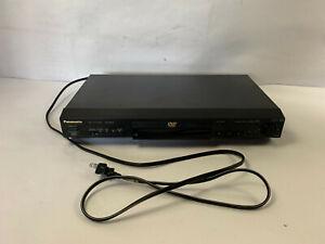 Panasonic DVD-RV22 DVD CD Player Movie HD High Definition Video Player 1080p