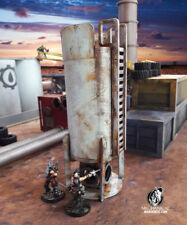Storage Tank 28mm Terrain 40k Necromunda Infinity