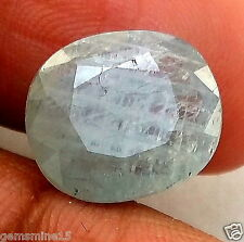 5.93 CT Yellowish Blue Sapphire 100% Natural Certified Awesome Quality Loose Gem