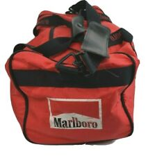 "Vintage Original Marlboro Sports Gym Duffel Bag 18""x10""x10"" Carry On"