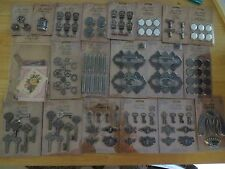 Tim Holtz Lot of 76 packages Idea-Ology metal embellishments stamps stencils #4