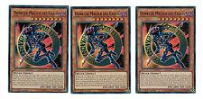 Yugioh 3 X (3 Karten)  Dunkler Magier Des Chaos YGLD-DEC02 Ultra Rare, Mint
