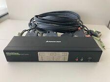 Iogear GCS1642 2 Port Dual-Link DVI Dual Monitor KVMP Switch & Cables KVM