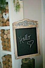 Wandtafel, Kreidetafel Werbetafel Memotafel Holz Shabby Landhaus 50xH71 cm groß