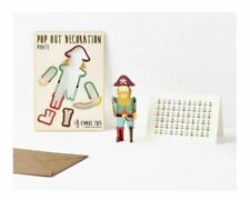 Pop Out And Make Pirate Birthday Greeting Card Decoration With Matching Envelope