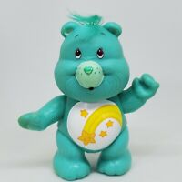 Vintage Care Bears Poseable Figure Wish Bear 1983 Kenner Shooting Star