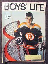 1970 Dec BOYS LIFE Magazine VG 4.0 Boston Bruins Bobby Orr Hockey