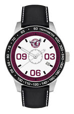 NRL Manly Sea Eagles Sportsman Series Watch 100m WR FREE SHIPPING