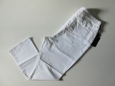 NWT Not Your Daughter's Jeans NYDJ Hayden Straight in White Stretch 24W x 31 ?