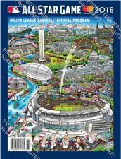 2018 MLB ALL STAR GAME PROGRAM OFFICIAL FAZZINO ART VERSION ASG WASHINGTON