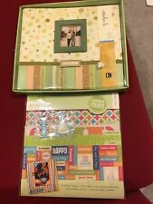 12x12 Postbound Studio K Meadow Scrapbook Album And Page Kit Over 100 Pieces New