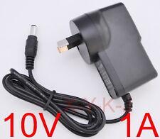 AC 100V-240V Adapter DC 10V 1A Switching power supply 1000mA AU plug DC 5.5mm