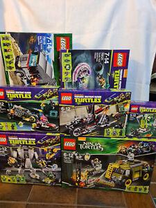 LEGO Teenage Mutant Ninja Turtles Sets 79100,79101,79102,79105,79115,79116,79121