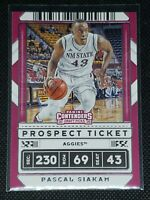 2020 Panini Contenders Draft Picks PASCAL SIAKAM #17 New Mexico State Aggies