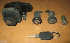 FIAT UNO MK2 Lock Set di driver e passeggero DOOR LOCK / ACCENSIONE / Boot + CHIAVE