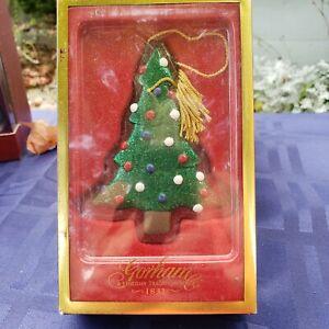 VILLEROY & BOCH~NIB Christmas Tree Crystal Ornament