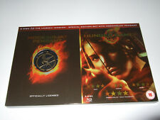 The Hunger Games Special Edition (Blu-ray 2-Disc Set) With Mockingjay Pendant