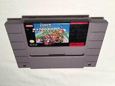 Super Mario Kart (Super Nintendo SNES) Game Cartridge Excellent!