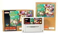 "Super Nintendo SNES Spiel ""Taz Mania"" Modul mit Anl. in OVP CIB"