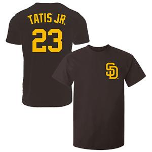Fernando Tatis Jr T-Shirt San Diego Padres MLB Soft Jersey #23 (S-2XL)
