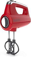 Black+Decker MX600R Helix Performance Premium Hand, 5-Speed Mixer, Red