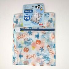 Daiso / Disney - Mickey Donald Laundry / Lingerie Large Mesh, Net Bag - Nwt