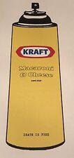 Kraft Mac & Cheese Spray Can print by DEATH NYC Ltd Ed Obey Brainwash poster