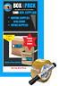 25 X 52L MOVING BOXES+PACKING MATERIALS CARDBOARD REMOVALS PACK DEAL MELBOURNE