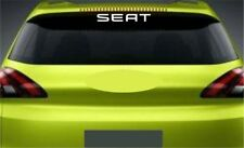 Rear Window Sticker Fits Seat Ibiza Premium Qaulity Decals Graphics RL89