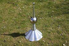 Titanzink-Turmspitze, speziell für Zeltdach, Dachschmuck, Dachspitze, Turmhaube