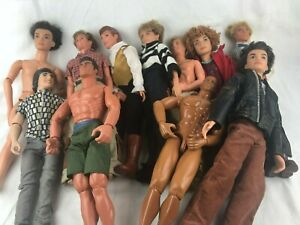 LOT OF 11 FASHION DOLLS - KEN (BARBIE) - ACTION & OTHERS - SEE PICTURES