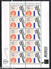Nederland 2013 vel 3106 Dag van de postzegel - Postfris MNH