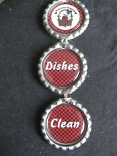 Welcome Friends Country Living Red Dishwasher Clean/Dirty Ornament ~ **Gift Idea