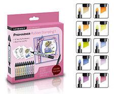 Letraset Promarker 10 Marker Pen Set  Rubber Stamping 1