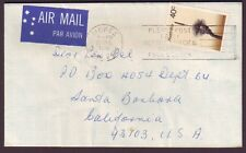 1978 40c TREE SOLO ON COVER TO USA - SEE APRIL 2014 STAMP NEWS ARTICLE (PS6231)