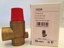 """3/4"""" BSP FXF 3 Bar, sollievo dalla pressione valvola di sicurezza ORKLI 13230"""