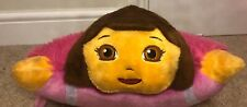 "Pillow Pets Pee Wees - Dora the Explorer and Backpack 12"" Soft Toy Plush Cushion"