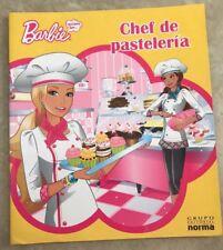 Barbie Quiero Ser...chef de pastelería