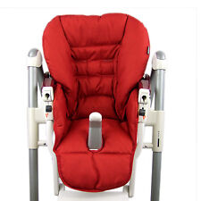 bambiniwelt CUSCINO RICAMBIO FODERA Peg Perego Prima Pappa Diner melange rosso