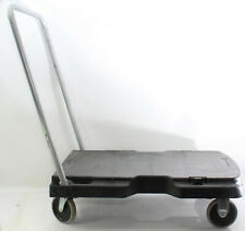 Rubbermaid 4401 Commercial Products Adjustable Trolley Platform Trucks Hand Cart