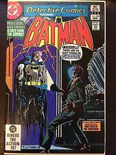 DC Detective Comics (1937) #520 Batman 6.5 FN+ Vintage Hugo Strange He-Man MOTU