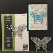 DREAM BUTTERFLY metal die Poppystamps dies 1780 Animals,insects,butterflies