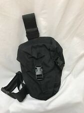Eagle Industries Black SAS Gas Mask Drop Leg Pouch Duty LE SWAT SEALs