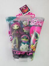 Novi Stars Alie Lectric I Light Up! Glow in the Dark Stand Doll w/ Hi-Def