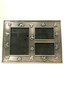 """Sweet Lullabies Silver Plated Photo Picture Frame 9.5""""x7"""""""
